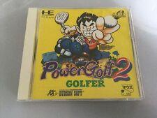 Power Golf 2 Pc Engine Super Cd JP Japan Boxed Good Cond