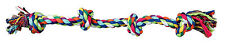 3274 Trixie LARGE Cotton Denta Fun Rope Chew Dog Toy 54cm
