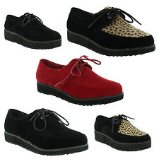 Unbranded Faux Suede Lace-up Casual Flats for Women