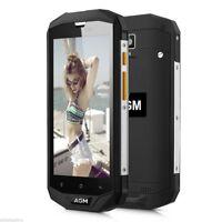 "5""Waterproof AGM A8 4G Smartphone Android7.0 3GB+32GB Quad Core Dual SIM 13MP #C"