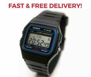 CASIO CLASSIC DIGITAL LCD MEN'S RESIN DIGITAL WATCH FAST & FREE