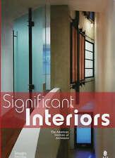 NEW Significant Interiors: Interior Architecture Knowledge Community