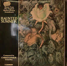 """EAST - COLONNA SONORA - HAUNTED SUMMER - CHRISTOPHER YOUNG 12"""" LP (N61)"""