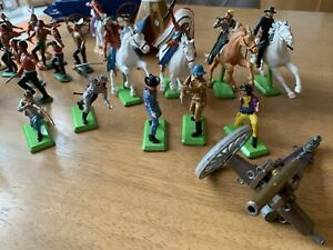 Britains Deetail Cowboys And Indians Metal Figures