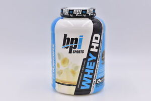 BPI Sports Whey HD Premium Protein Powder, Banana Marshmellow, 4.5lb, EXP:12/21