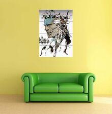 METAL GEAR SOLID SNAKE Gigante Poster Art Print