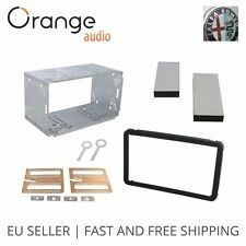 ALFA ROMEO 159 / Brera 2005 ONWARDS BLACK DOUBLE DIN FASCIA FACIA ADAPTOR KIT