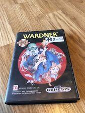 Wardner Sega Genesis Game In Box Tested Works BT2