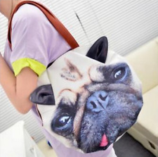 New Women Leather Handbag 3D Dog Face Coin Purse Women Lady Girl Bag Free Shippi