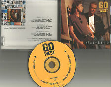 Peter cox GO WEST Faithful w/ 2 UNRELEASED TRX USA CD single Peter Wolf Produced