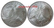 J402 10 DM Gedenkmünze Olympia München 1972 D Arme in bankfrisch
