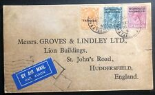 1935 Tangier Morocco British Agencies Commercial Airmail cover To England