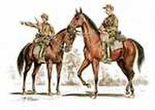 CMK F72180 1/72 Resin WWII German Mounted Infantry 2 Horses + 2 Men
