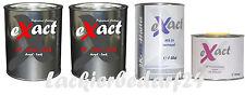 2K-Lack RAL (9006) Weissaluminium, + Härter&Verdünnung, 3,5 Liter, #LW18