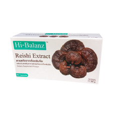 Hi-Balanz Reishi Extract Dietary Supplement Product 30 Capsules