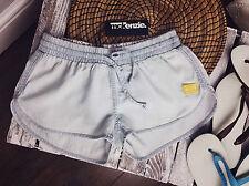 Ladies McKenzie Shorts Denim Beach Summer Size 6 -16