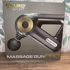 Aduro Sport Massage Gun Pro w/ 12 Interchangeable Heads Brand New!🔥🔥