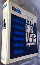 1974 Ford dealer car facts book Mustang II Torino Thunderbird LTD Pinto Maverick