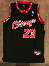 NEW Michael Jordan 1984 Chicago Bulls #23 Mens Throwback Black Basketball Jersey