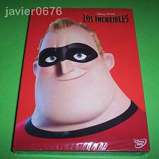 LOS INCREIBLES DISNEY PIXAR DVD NUEVO Y PRECINTADO SLIPCOVER