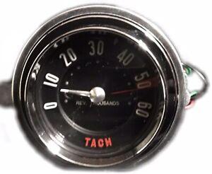 1958 Corvette Tachometer - Electronic Conversion - 6000RPM - New