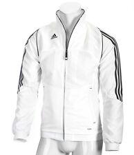 adidas Herren Trainingsjacke weiß, Männer Laufjacke, Sportjacke Gr.XS,S,M,XL