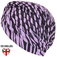 Nuevo Damas Pelo Elástico Turbante diadema Headwrap Cubierta Chemo Sombrero vendedor del Reino Unido
