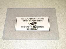 Nva / Vietcong Vietnam War Original Authentic Trail Death Card Free Shipping