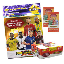 Panini Road to World Cup Qatar 2022 Adrenalyn XL Display, Starter, Booster, Tins