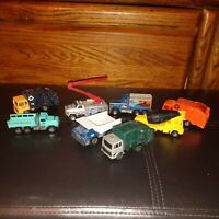 Industrial Construction lot of 8  - hot wheels matchbox maisto And more