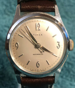 Pepsi Cola History Made in Great Britain 1958 Vintage Men's Timex Marlin Watch