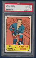 REG FLEMING 67-68 TOPPS 1967-68 NO 30 PSA 8  13799