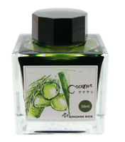 KINGDOM NOTE x SAILOR Ink for Fountain Pen Asian Green Series Coconut