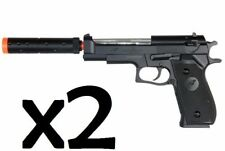 New Airsoft Gun Pistol Double Eagle M22 Spring Airsoft Toy Cheap Two Pack