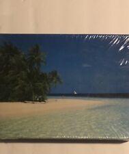 Springbok 500 Pc Jigsaw Puzzle ISLAND FANTASY Beach Sand Palm Trees BRAND NEW