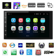 1Din 1080P Touch Screen Android 8.1 Quad-Core Stereo Radio GPS Wifi Mirror Link