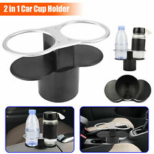 2in1 Cup Drink Bottle Holders Universal Storage Cup Stand for Car Auto Interior