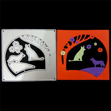 Wolves in the scenery Metal Cutting Dies for DIY Scrapbook Album Cards Making I