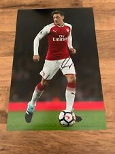 MESUT OZIL - Hand Signed 12x8 Photo - Arsenal Gunners Germany - Football