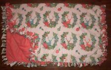 Queen Deer And Pink Throw Blanket