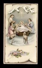 "santino-holy card""""ediz. NB serie P.2575 GESU' BAMBINO"
