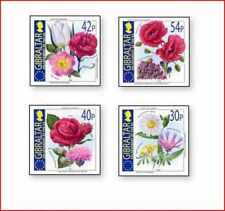GIB0307 Enlargement of the European Union, flowers 4 stamps