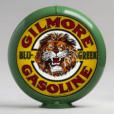 "Gilmore Blu-Green 13.5"" Gas Pump Globe w/ Green Plastic Body (G136)"