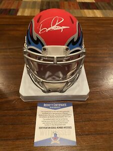Beckett Authentic Derrick Henry Autographed Signed Brown Super Grip Football Tennessee Titans
