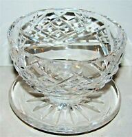 Vintage Signed Waterford DONEGAL Footed Dessert Dish Bowl PERFECT!