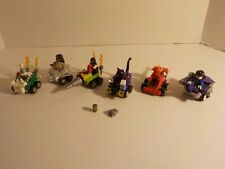 LEGO Authentic DC Super Heroes Mighty Micros Lot BANE WONDER WOMAN FLASH CAT+