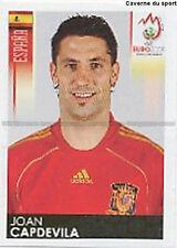 N°421 VIGNETTE PANINI CAPDEVILA ESPANA SPAIN EURO 2008 STICKER