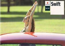 SUZUKI SWIFT 2008-09 UK vendite sul mercato opuscolo 1.3 Gl 1.5 Glx 1.3 DDiS