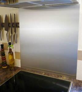 600mm x 800mm 1mm Stainless Steel Cooker Splash Back