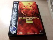 Juego DEFCON 5[Consola SEGA SATURN]-año 1995-(Dialogos/Textos en Inglés/English)